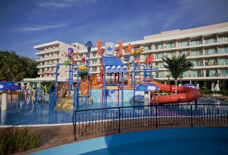 Hotel Evrika Beach Club - vodný svet