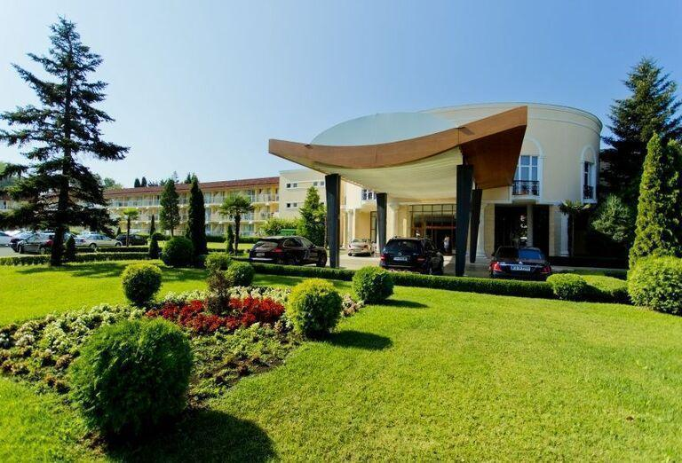 Hotel Evrika Beach Club - vstup do hotela