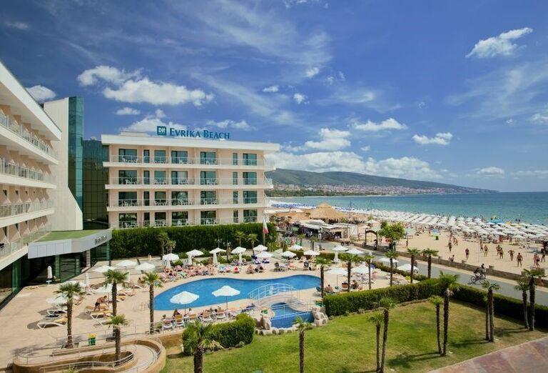 Hotel Evrika Beach Club - Areál hotela