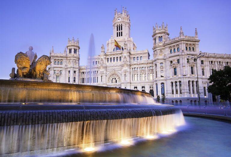 Námestie Cibeles, Madrid, poznávací zájazd, Španielsko