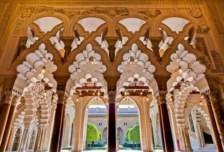 Palác Aljaferia, Zaragoza, poznávací zájazd, Španielsko