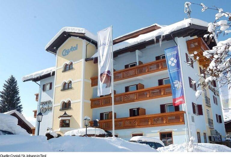 Exterier, Aktivhotel Crystal, St. Johann in Tirol