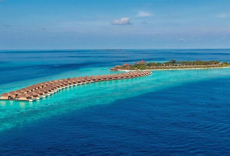 Pohľad na ostrov - Hotelový Resort Hurawalhi Island Resort Maldives