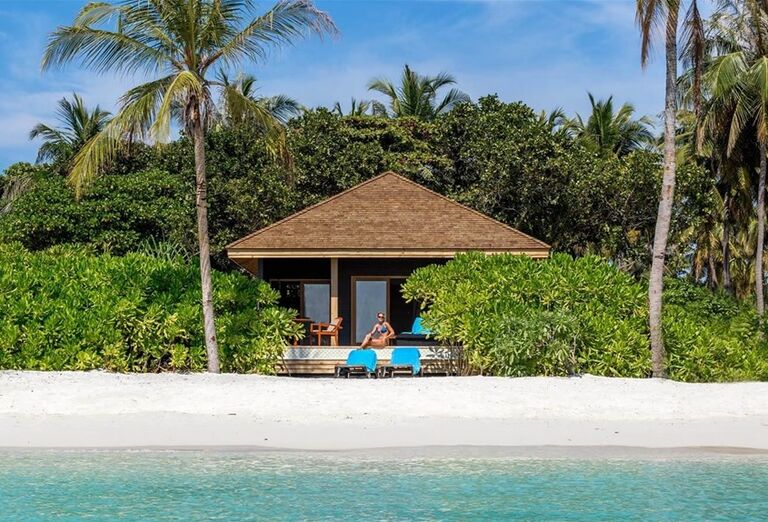 Ubytovanie v domčeku priamo pri mori - Hotelový Resort Hurawalhi Island Resort Maldives i