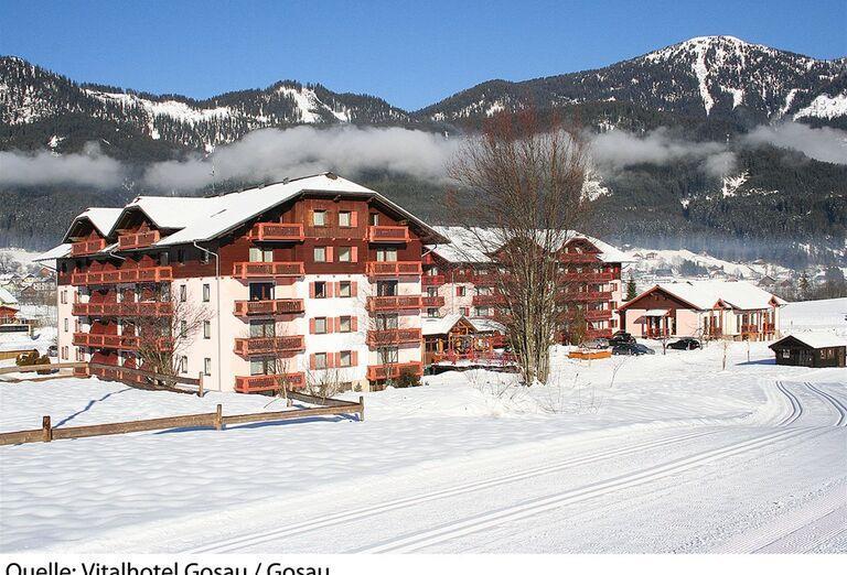 Vitalhotel Gosau- hotel a okolitá krajina