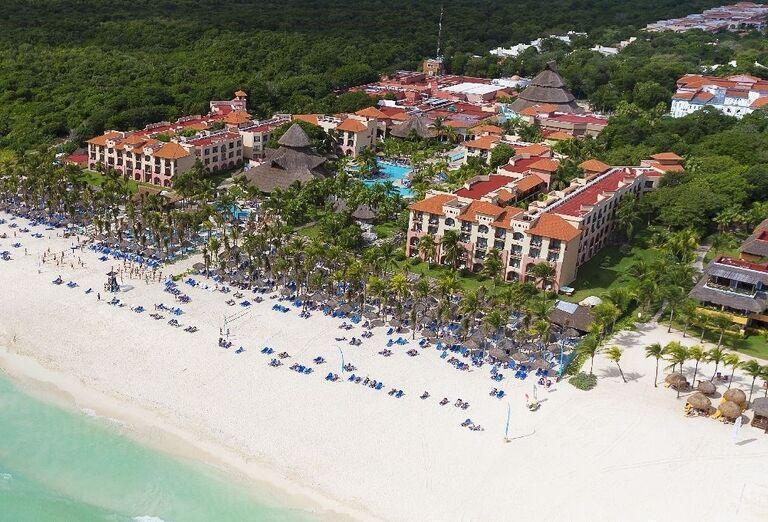 Hotel Sandos Playacar Beach Resort - Piesočnatá pláž