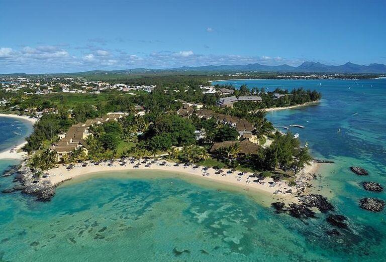 Pohľad na hotel Canonnier Beachcomber Golf Resort & Spa