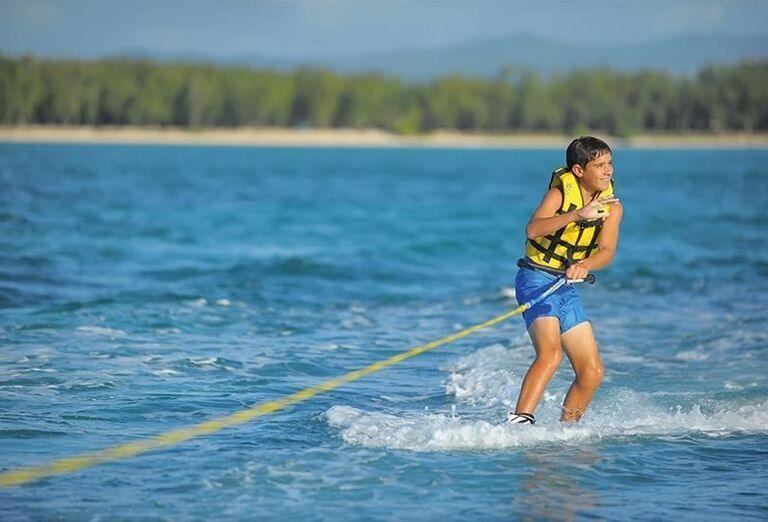 Vodné športy na mori