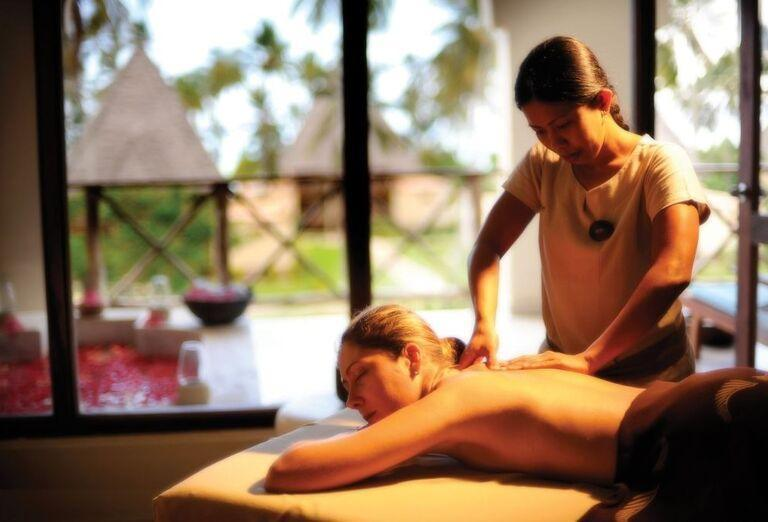 Masérske služby v hoteli Neptune Pwani Beach Resort & Spa