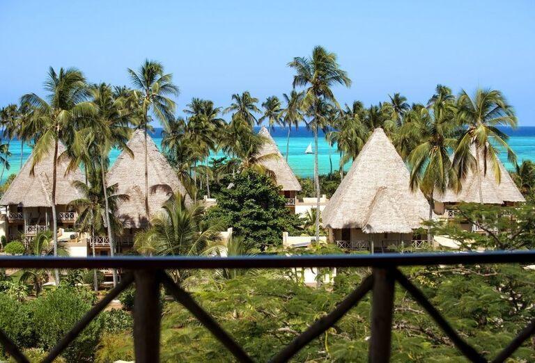 Pohľad na komplex hotela Neptune Pwani Beach Resort & Spa