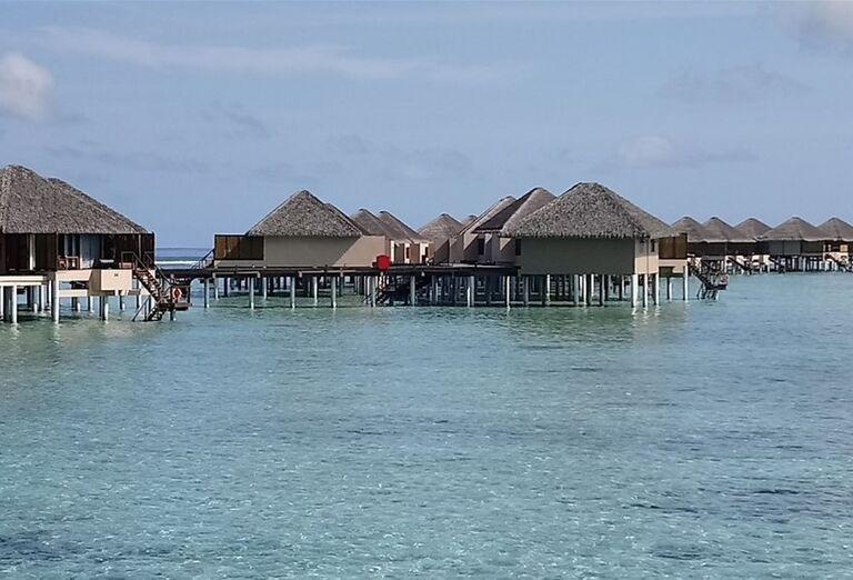 Pohľad na hotel Adaaran Prestige Vadoo