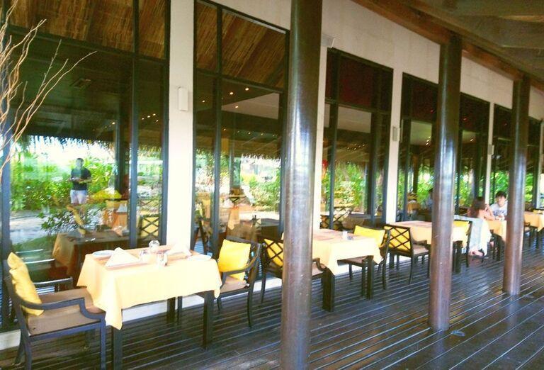 Jedáleň hotela Adaaran Prestige Vadoo