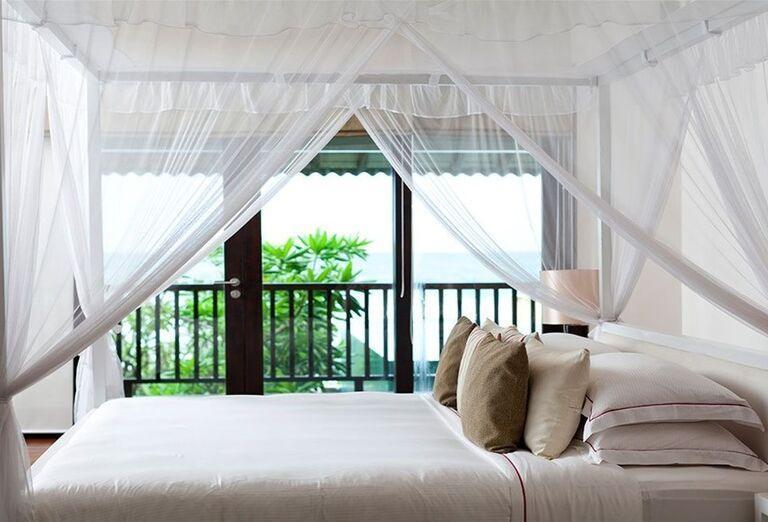 Izba s výhľadom na more v hoteli The Fortress Resort & Spa