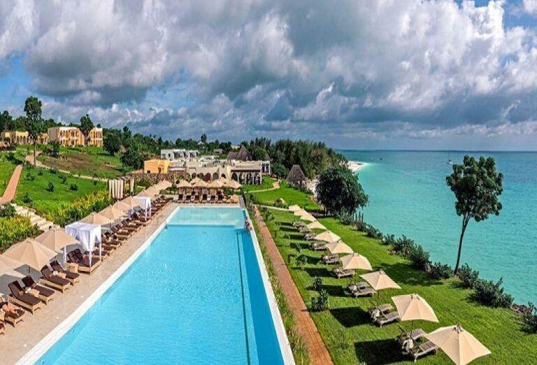 Hotel RIU Palace Zanzibar - hotelový bazén