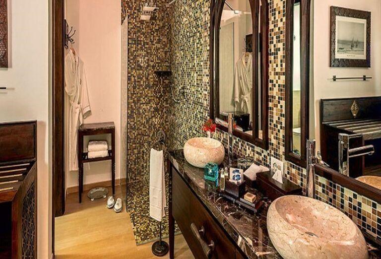 Kúpeľňa v hoteli RIU Palace Zanzibar