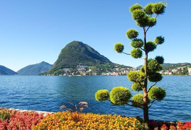 Najkrajšie jazerá Talianska a Švajčiarska, poznávací zájaz