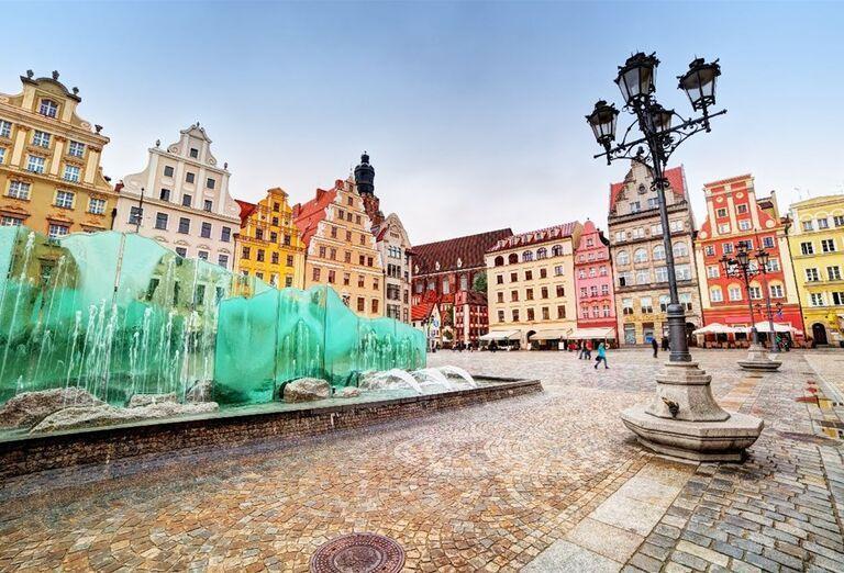 Trhové námestie vo Vroclave