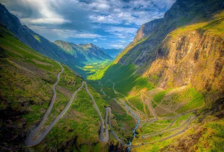Krásna príroda Nórska