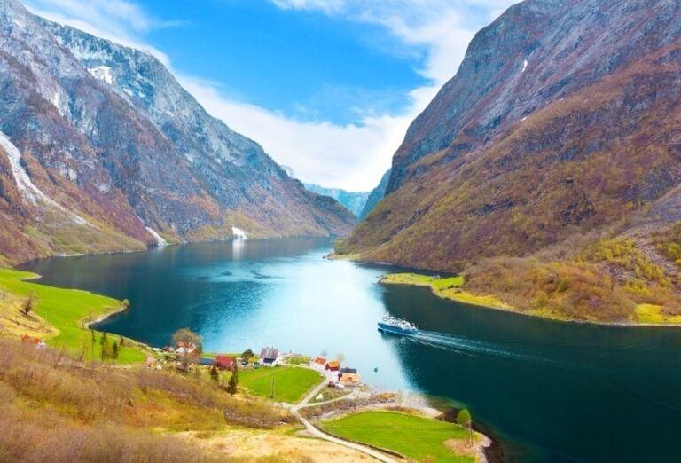 Rieka Rauma v Nórsku