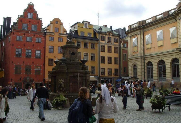 Budovy Štokholm