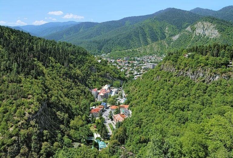 Západné Gruzínsko - Pohľad na okolie