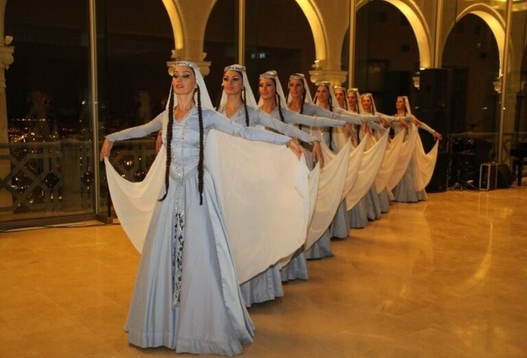 Západné Gruzínsko - tanečnice