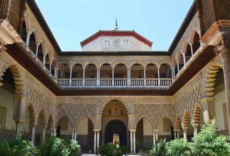Alcazar, Sevilla, poznávací zájazd, Španielsko