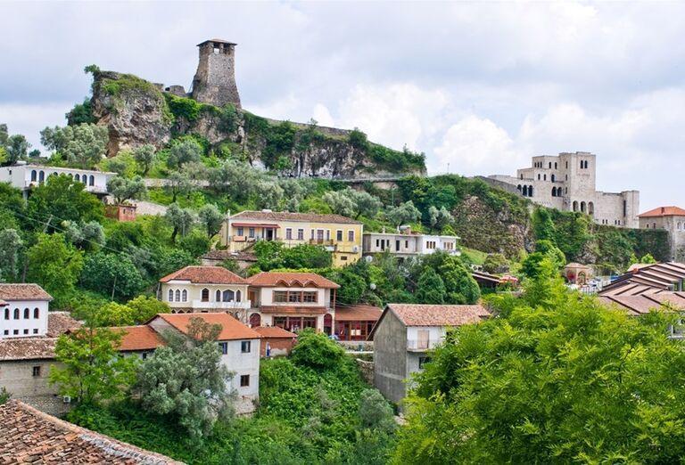 Albánsko - Pohľad na mesto