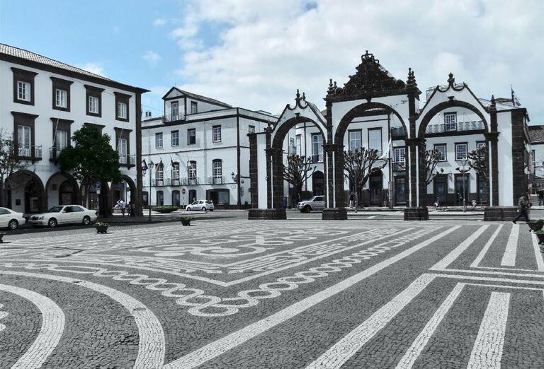 Ponta Delgada, ostrov Sao Miguel, Azorské ostrovy, poznávací zájazd, Portugalsko