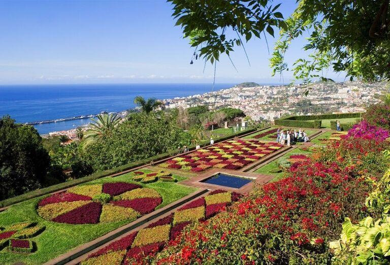 Botanická záhrada, Madeira, poznávací zájazd, Portugalsko