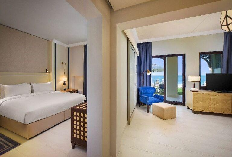 Izba s výhľadom na more v rezorte Hilton Resort & Spa Ras Al Khaimah