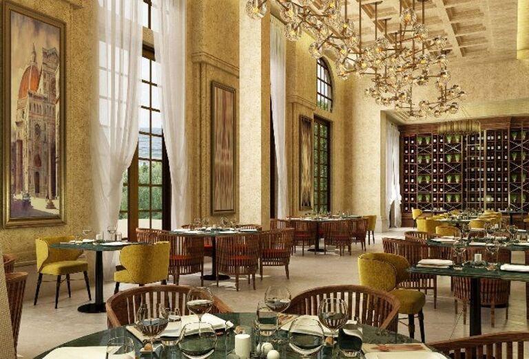 Stolovanie v hoteli Rixos Saadiyat Island Abu Dhabi