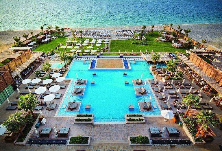 Areál hotela Rixos Premium Dubai