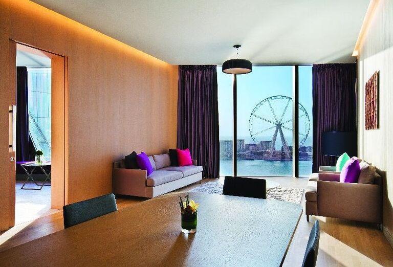 Izba s krásnym výhľadom v hoteli Rixos Premium Dubai