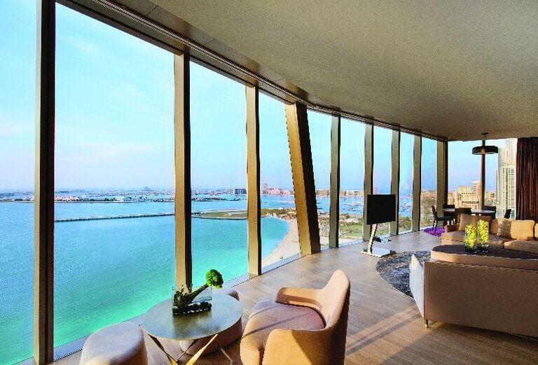 Výhľad na more v hoteli Rixos Premium Dubai