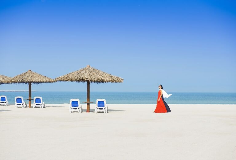 Dubaj - svet fantastických atrakcií- pláž