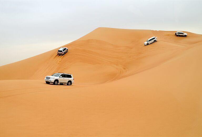 Dubaj - svet fantastických atrakcií- púšť