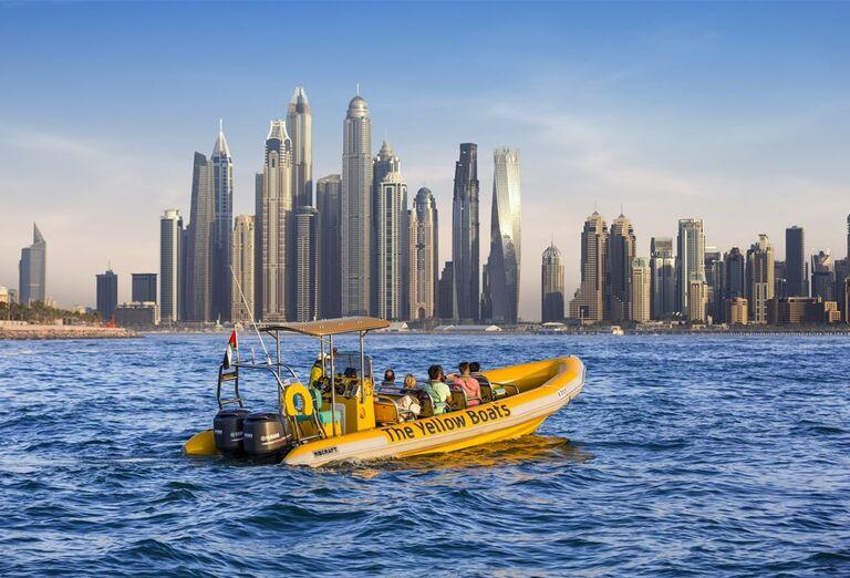 Pohľad na mesto Dubaj
