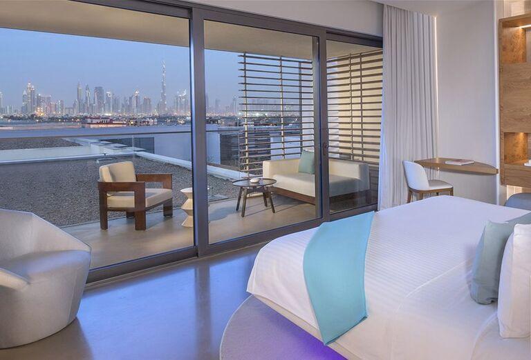 Pohľad z izby  v hoteli Nikki Beach Resort and Spa Dubai