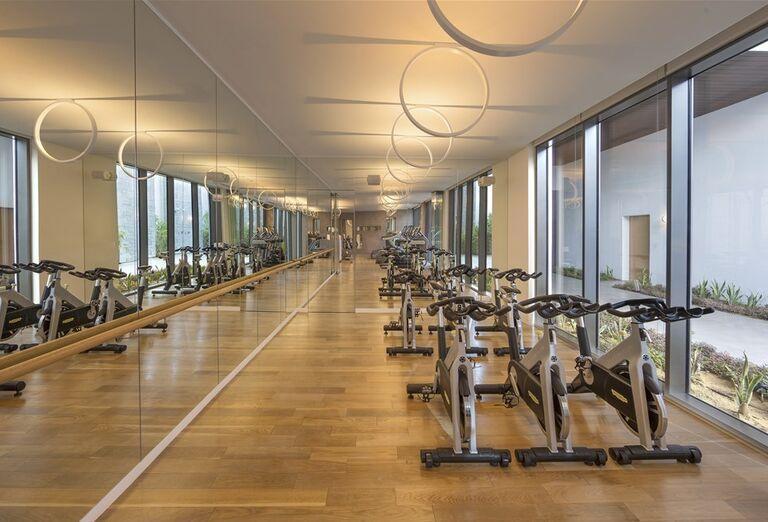 Fitness  v hoteli Nikki Beach Resort and Spa Dubai