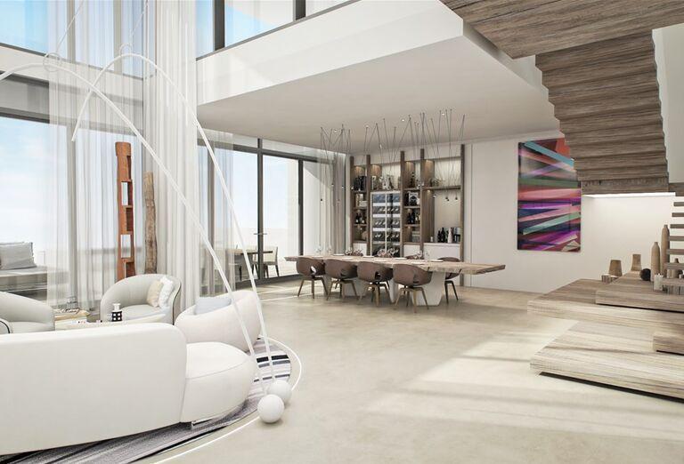 Interiér  v hoteli Nikki Beach Resort and Spa Dubai