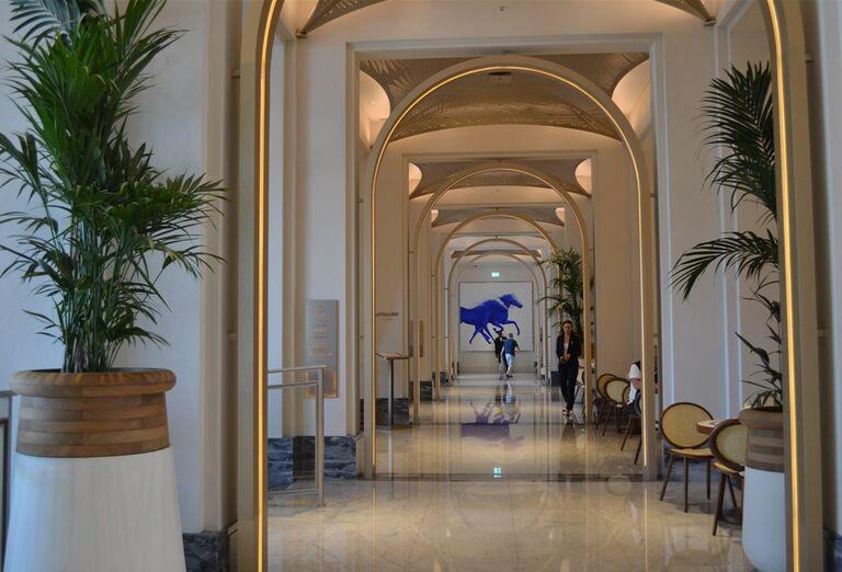 Interiér hotela Madinat Jumeirah Al Naseem