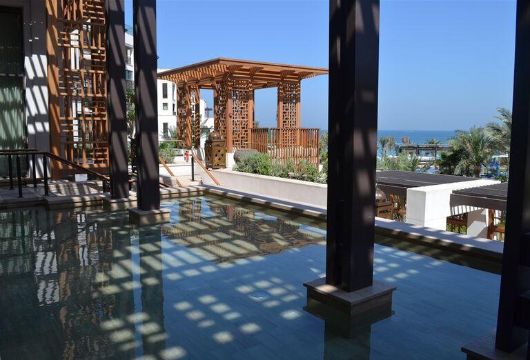 Bazén v hoteli Madinat Jumeirah Al Naseem