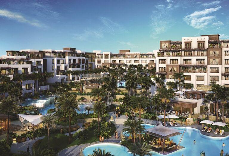 Pohľad na hotel Madinat Jumeirah Al Naseem