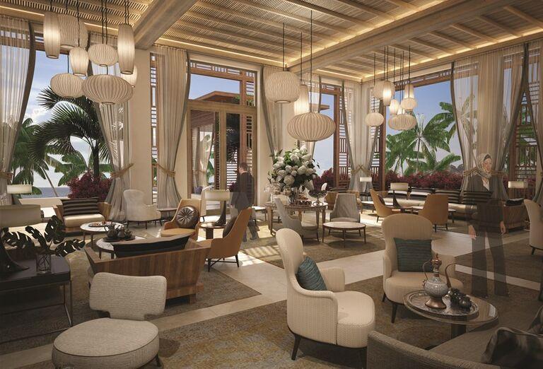 Posedenie v hoteli Madinat Jumeirah Al Naseem