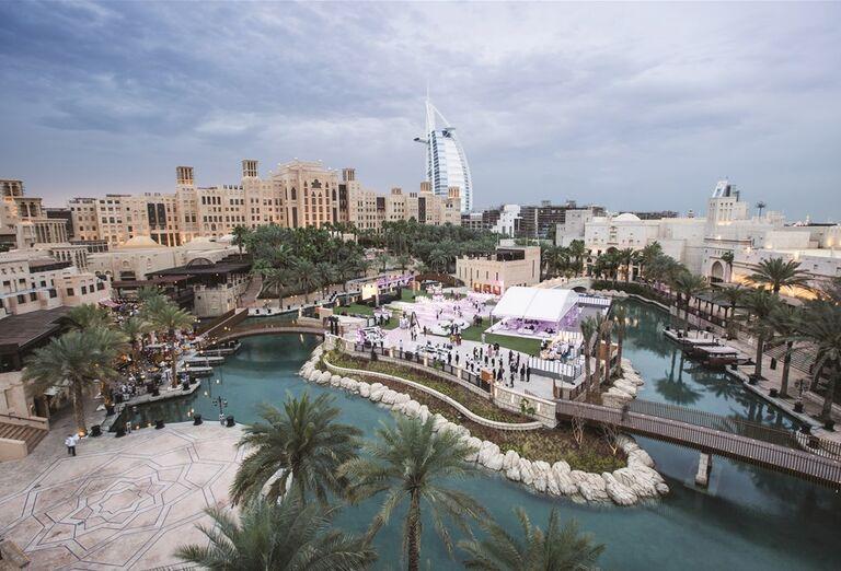 Areál a okolie hotela Madinat Jumeirah Al Naseem