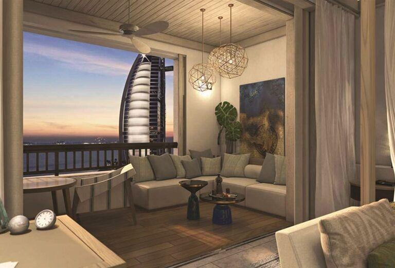 Izba v hoteli Madinat Jumeirah Al Naseem
