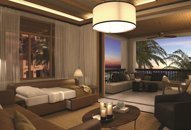 Komfortná izba v hoteli Madinat Jumeirah Al Naseem
