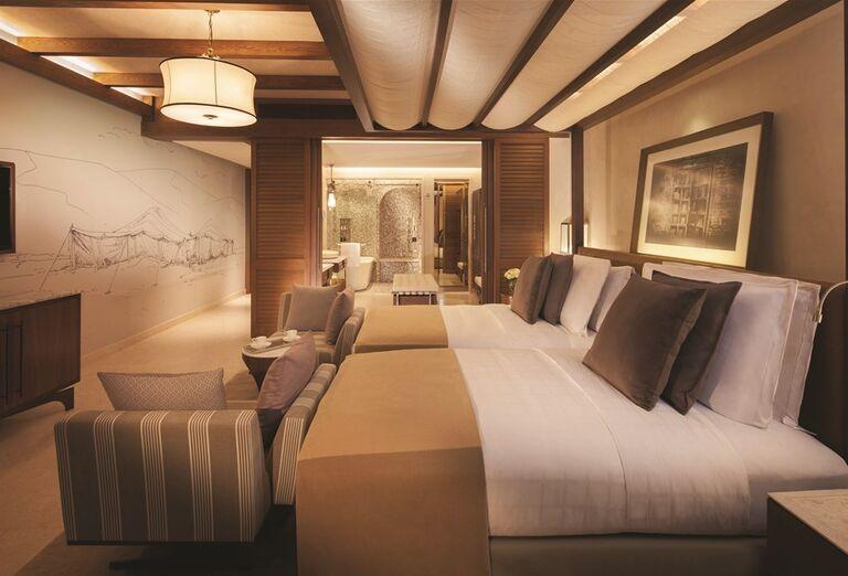 Komfortná izba hotela Madinat Jumeirah Al Naseem