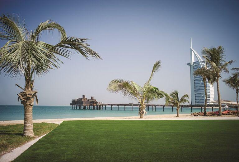 Pláž pri hoteli Madinat Jumeirah Al Naseem